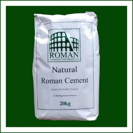 Natural Roman Cement 20kg Single bags COLLECTION ONLY